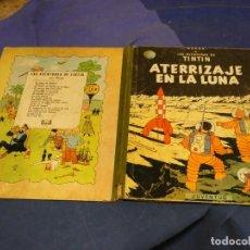 Cómics: TINTIN ATERRIZAJE EN LA LUNA CUARTA ED 1967 MANCHAS OXIDO VER FOTO DEFECTOS DOS ULTIMAS PAGINAS. Lote 221386051