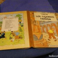 Comics : TINTIN LOS CIGARROS DEL FARAON PRIMERA EDICION 1964 MUY BUEN ESTADO GENERAL. Lote 221386493