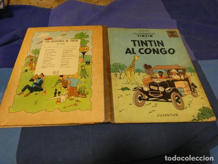 TINTIN AL CONGO PRIMERA EDICION EN CATALAN ESTADO CORRECTO MARZO 1969 (Tebeos y Comics - Juventud - Tintín)