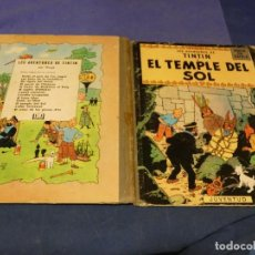Comics : TINTIN I EL TEMPLE DEL SOL 1965 CATALAN PRIMERA EDICION 1965 CORRECTISIMO SIN DAÑOS DE CONSIDRACION. Lote 221387030