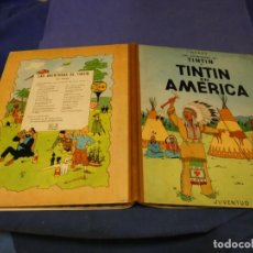 Cómics: TINTIN EN AMERICA SEGUNDA EDICION 1969 NOMBRE A BOLI EN PRIMERA PAGINA. Lote 221387182