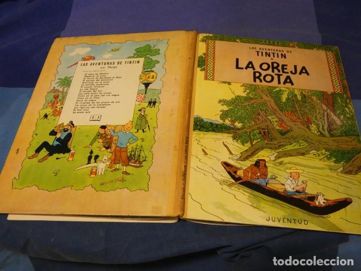 TINTIN LA OREJA ROTA EDICION 1965 MUY BONITO Y EN ESTADO MAS QUE SATSIFACTORIO (Tebeos y Comics - Juventud - Tintín)