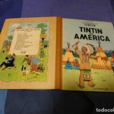 Cómics: TINTIN EN AMERICA PRIMERA EDICION 1968 MUY BUEN ESTADO PRECIOSO!. Lote 221388791