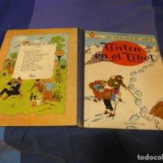 Comics : INCREIBLE TINTIN EN EL TIBET PRIMERA EDICION 1962 MUY MUY BUEN ESTADO!!!. Lote 221388926