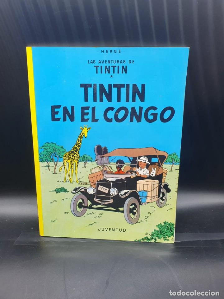 LA AVENTURAS DE TINTIN. TINTIN EN EL CONGO (Tebeos y Comics - Juventud - Tintín)