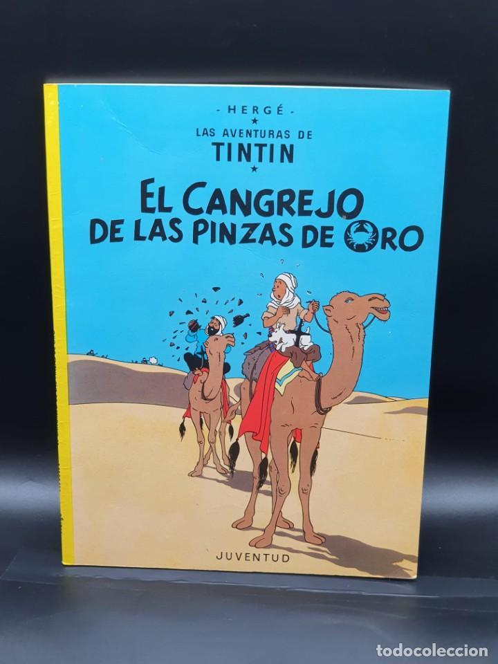 LAS AVENTURAS DE TINTIN. EL CANGREJO DE LAS PINZAS DE ORO (Tebeos y Comics - Juventud - Tintín)