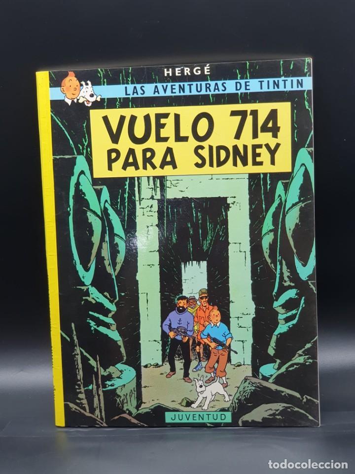 LAS AVENTURAS DE TINTIN. VUELO 714 PARA SIDNEY (Tebeos y Comics - Juventud - Tintín)