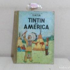 Cómics: LAS AVENTURAS DE TINTIN --TINTIN EN AMERICA--JUVENTUD-1969--. Lote 221643998