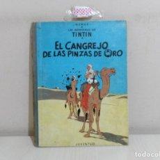 Cómics: LAS AVENTURAS DE TINTIN-EL CANGREJO DE LAS PINZAS DE ORO- JUVENTUD 1966-SEGUNDA EDICION-. Lote 221645387