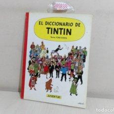 Cómics: EL DICCIONARIO DE TINTIN -TEXTO TONI COSTA -CASTELLANO-JUVENTUD-1986--1 EDICION-. Lote 221646078