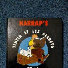 Cómics: TINTIN HARRAPS - TINTIN ET LES SECRETS DE LA GRAMMAIRE ANGLAISE. Lote 221673493