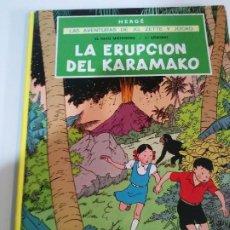 Cómics: JO CETTE Y JOCKO LA ERUPCION DEL KARAMAKO 2 ° EDICION E. Lote 221676125