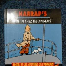 Cómics: TINTIN HARRAPS - TINTIN CHEZ LES ANGLAIS. Lote 221676408