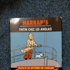 Cómics: TINTIN HARRAPS - TINTIN CHEZ LES ANGLAIS. Lote 221676598