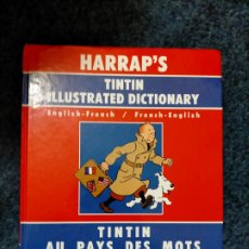 Comics : TINTIN HARRAPS - DICCIONARIO ILUSTRADO FRANCES INGLES - INGLES FRANCES. Lote 44342529