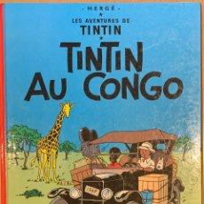 Cómics: TINTIN AU CONGO 1970 EDITION BELGE DE 1970 - BE. Lote 221677988