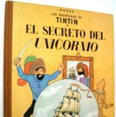 Cómics: TINTIN - EL SECRETO DEL UNICORNIO - 1968. Lote 221870937