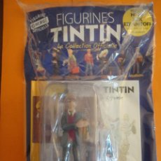 Cómics: FIGURA DE RESINA COLECCION TINTIN - MIK EZDANITOFF Nº 99 MOULINSART 2013 . DIFICIL !. Lote 221904466