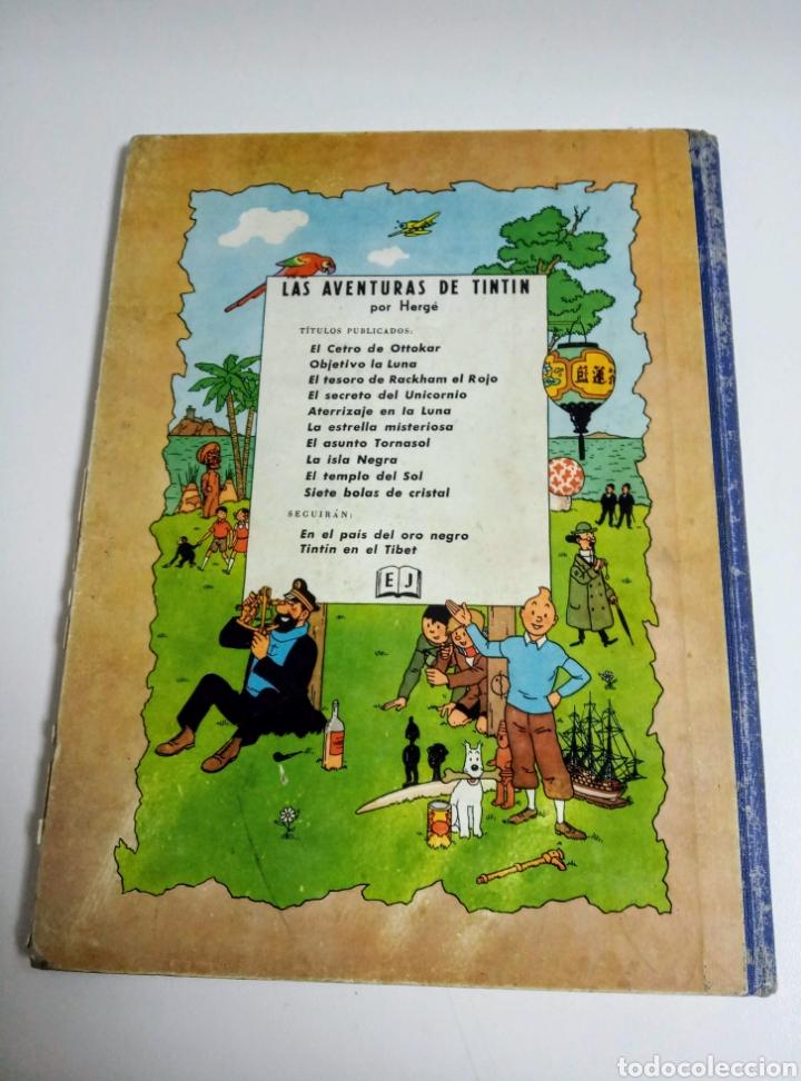Cómics: TINTÍN EL ASUNTO TORNASOL —HERGÉ— EDITORIAL JUVENTUD PRIMERA EDICIÓN - Foto 2 - 221948565