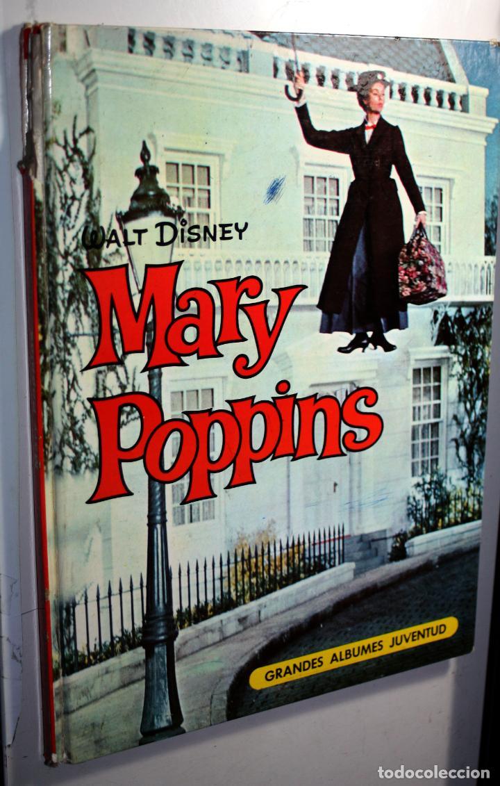 MARY POPPINS (WALT DISNEY)- GRANDES ÁLBUMES JUVENTUD - 1ª EDICIÓN 1965. GRAN FORMATO (Tebeos y Comics - Juventud - Otros)