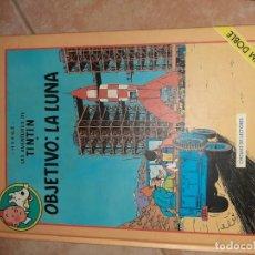 Comics : TINTIN OBJETIVO LA LUNA. Lote 222031666