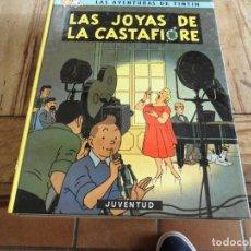 Cómics: TINTIN EL TEMPLO DEL SOL EDICION 14 1996 CARTONE JUVENTUD. Lote 222044535