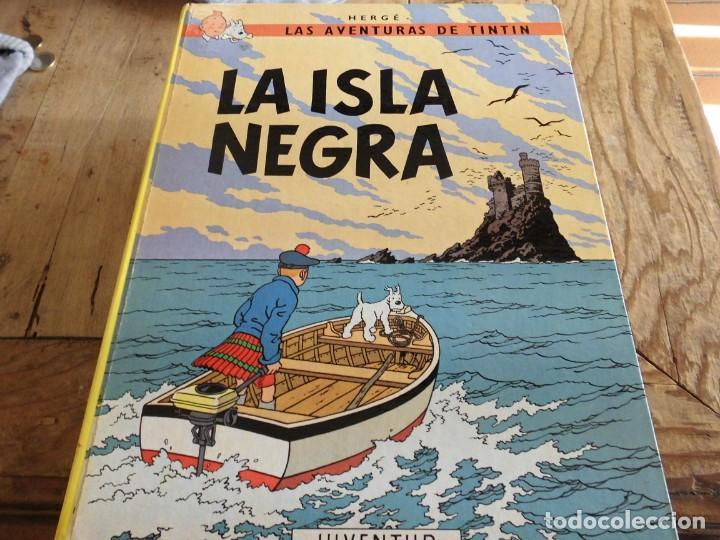 TINTIN LA ISLA NEGRA EDICION 11 1988 CARTONE JUVENTUD (Tebeos y Comics - Juventud - Tintín)