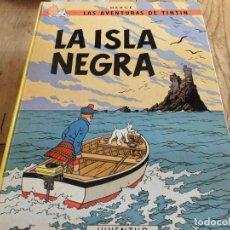 Cómics: TINTIN LA ISLA NEGRA EDICION 11 1988 CARTONE JUVENTUD. Lote 222044992