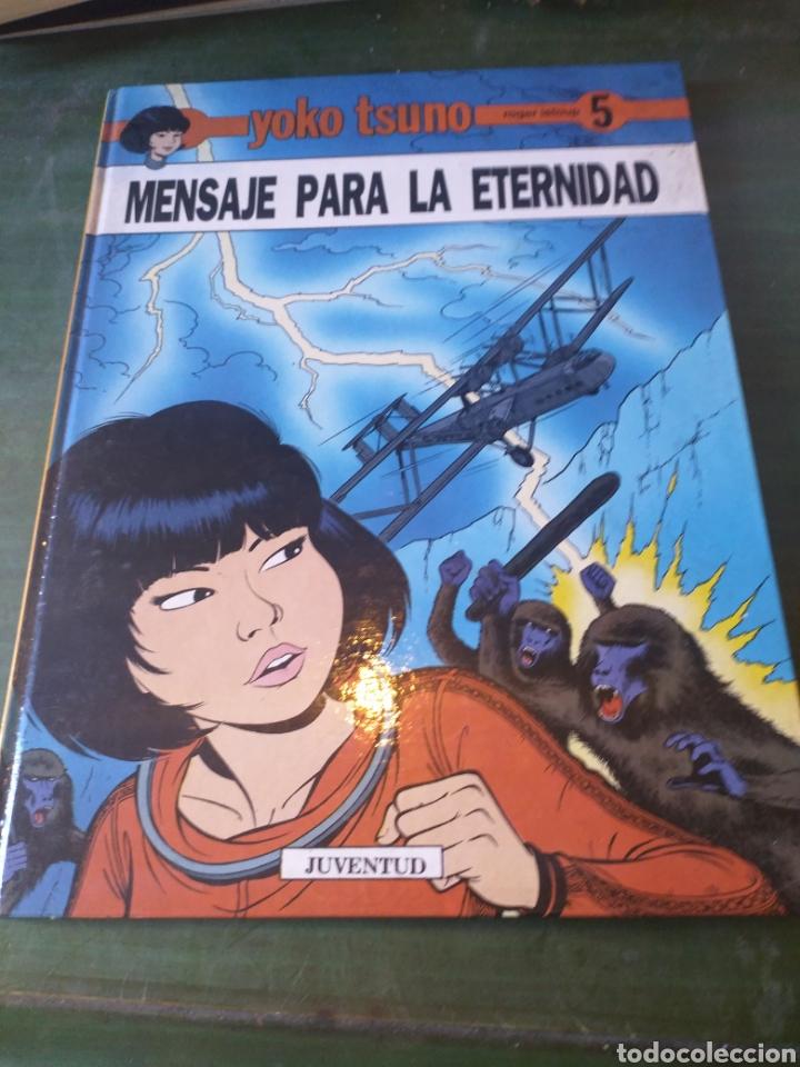 YOKO TSUNO- MENSAJE PARA LA ETERNIDAD.1A EDICIÓN. JUVENTUD (Tebeos y Comics - Juventud - Yoko Tsuno)