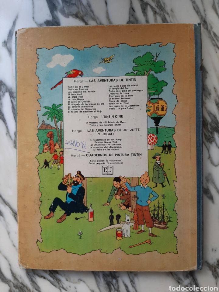 Cómics: LAS AVENTURAS DE TINTÍN - EL CANGREJO DE LAS PINZAS DE ORO - HERGÉ - JUVENTUD - CUARTA EDICIÓN -1971 - Foto 5 - 222118660