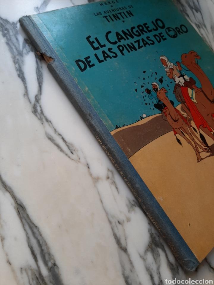 Cómics: LAS AVENTURAS DE TINTÍN - EL CANGREJO DE LAS PINZAS DE ORO - HERGÉ - JUVENTUD - CUARTA EDICIÓN -1971 - Foto 6 - 222118660