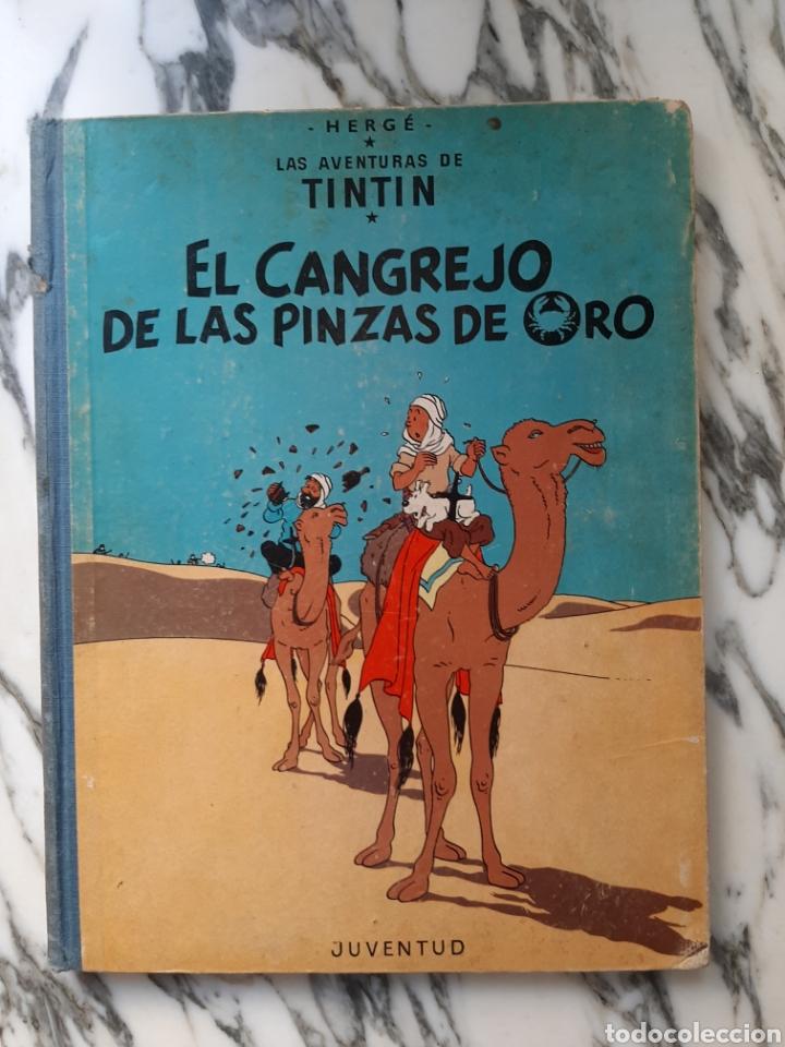 LAS AVENTURAS DE TINTÍN - EL CANGREJO DE LAS PINZAS DE ORO - HERGÉ - JUVENTUD - CUARTA EDICIÓN -1971 (Tebeos y Comics - Juventud - Tintín)
