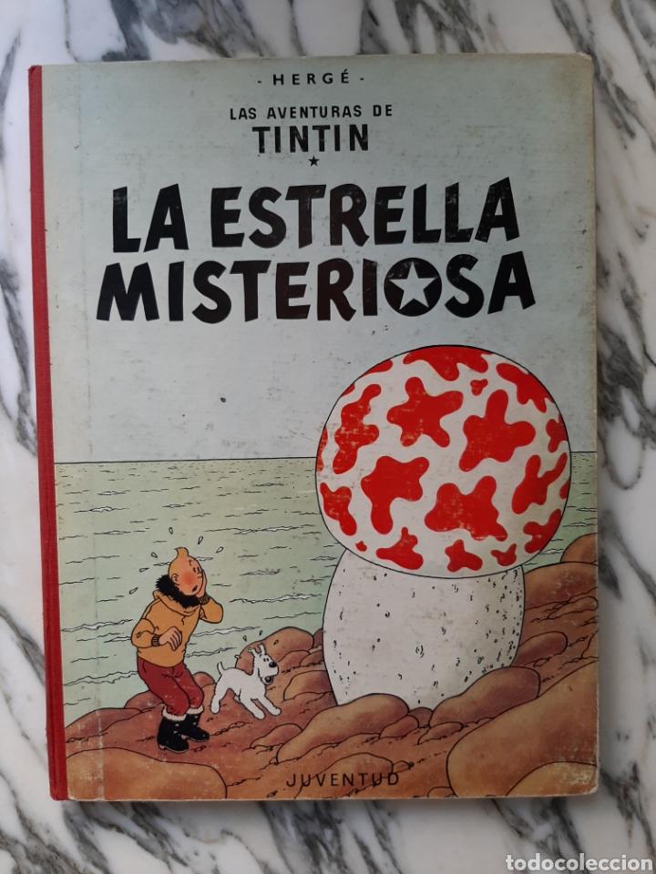LAS AVENTURAS DE TINTÍN - LA ESTRELLA MISTERIOSA - HERGÉ - JUVENTUD - QUINTA EDICIÓN - 1970 (Tebeos y Comics - Juventud - Tintín)