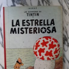 Cómics: LAS AVENTURAS DE TINTÍN - LA ESTRELLA MISTERIOSA - HERGÉ - JUVENTUD - QUINTA EDICIÓN - 1970. Lote 222119053
