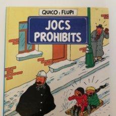 Cómics: JOCS PROHIBITS, QUICO Y FLUPI. Lote 222141927