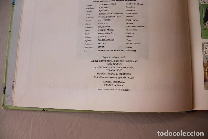 Cómics: TINTIN EN EL CONGO, SEGUNDA EDICIÓN, MUY BUEN ESTADO, INTERIOR IMPECABLE - Foto 2 - 222219660