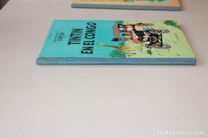 Cómics: TINTIN EN EL CONGO, SEGUNDA EDICIÓN, MUY BUEN ESTADO, INTERIOR IMPECABLE - Foto 4 - 222219660