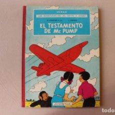 Cómics: EL TESTAMENTO DE MR. PUMP, PRIMERA EDICIÓN, MUY BUEN ESTADO, INTERIOR IMPECABLE. Lote 222221061