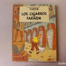 Fumetti: TINTIN Y LOS CIGARROS DEL FARAÓN, TERCERA EDICIÓN, MUY BUEN ESTADO, INTERIOR IMPECABLE. Lote 222221515