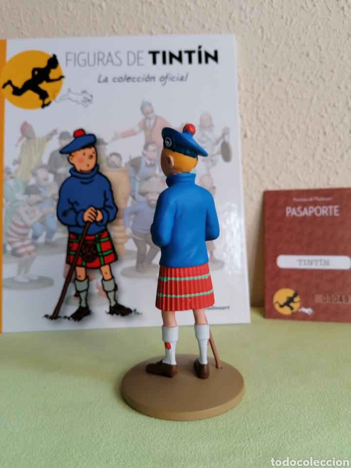 Cómics: Figura Colección TINTIN -Tintin con kilt- Nº 22 - Foto 3 - 222264160