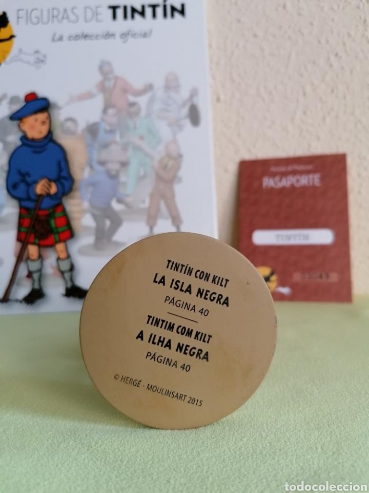 Cómics: Figura Colección TINTIN -Tintin con kilt- Nº 22 - Foto 4 - 222264160