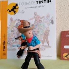 Cómics: FIGURA COLECCIÓN TINTIN -TINTIN COWBOY- Nº 30. Lote 222264543