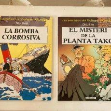 Cómics: LOTE 2 TOMOS LES AVENTURES DEL PROFESSOR PALMERA (COMPLETA) - EN CATALAN - GCH1. Lote 222334622