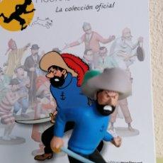 Cómics: FIGURA COLECCIÓN TINTIN -HADDOCK SE CREE HADOQUE- Nº 34. Lote 222350532