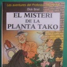 Cómics: LES AVENTURES DEL PROFESSOR PALMERA EL MISTERI DE LA PLANTA TACO. Lote 222355346