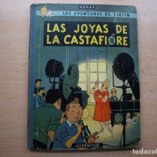 Cómics: TINTIN - LAS JOYAS DE LA CASTAFIORE - PRIMERA EDICION 1964 - TAPA DURA - JUVENTUID -. Lote 222373805