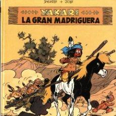 Cómics: YAKARI-10: LA GRAN MADRIGUERA (JUVENTUD, 1988) DE DERIB Y JOB. TAPA DURA. Lote 222385677