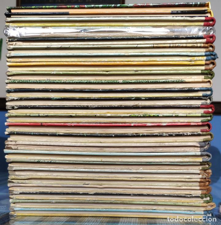 Cómics: TINTIN - LOMO TELA (COMPLETA CON 5 PRIMERAS,16 SEGUNDAS Y 4 TERCERAS EDICIONES)- JUVENTUD AÑOS 60-70 - Foto 2 - 222408535