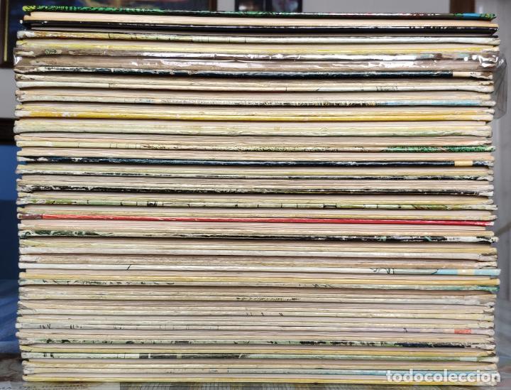 Cómics: TINTIN - LOMO TELA (COMPLETA CON 5 PRIMERAS,16 SEGUNDAS Y 4 TERCERAS EDICIONES)- JUVENTUD AÑOS 60-70 - Foto 3 - 222408535