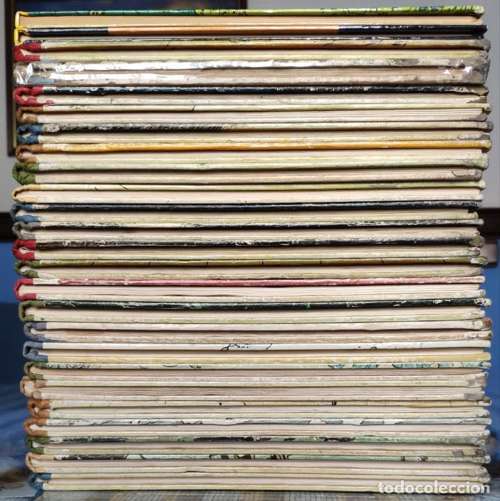 Cómics: TINTIN - LOMO TELA (COMPLETA CON 5 PRIMERAS,16 SEGUNDAS Y 4 TERCERAS EDICIONES)- JUVENTUD AÑOS 60-70 - Foto 4 - 222408535